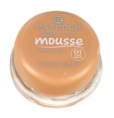 Essence Soft Touch Mousse podkład 16 g dla kobiet 04 Matt Ivory