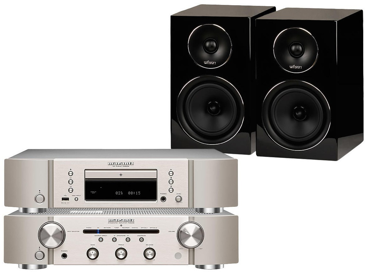 Marantz PM6006 + CD6006 + EL-4