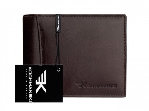 Kochmanski Studio Kreacji Skórzany portfel męski stop 1076
