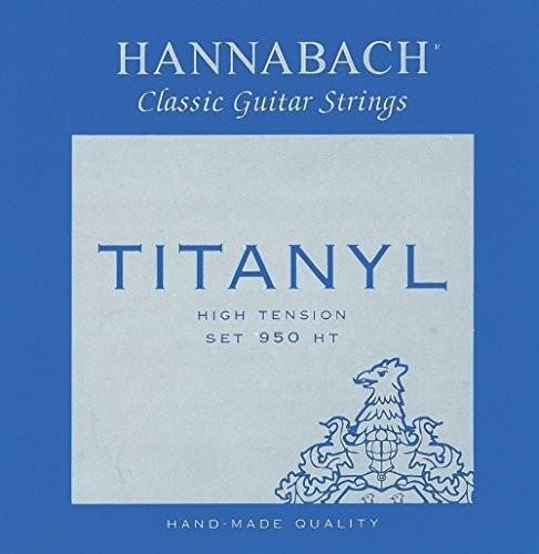 Hannabach Klassik Gita rrensaiten Serie 950High Tension titanylE1