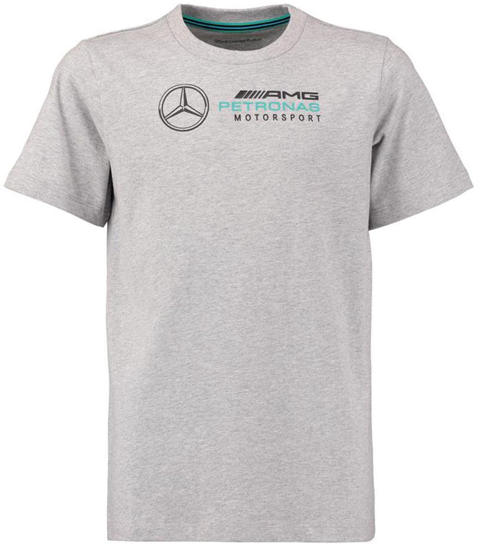Mercedes AMG Petronas F1 Team Koszulka T-shirt dziecięcy szara Logo 141181028150092