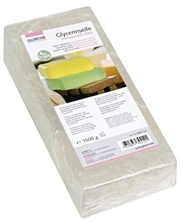 Glorex GmbH glorex 61600122gliceryna mydła ze standardem Öko przezroczysty, 1500G 6 1600 122