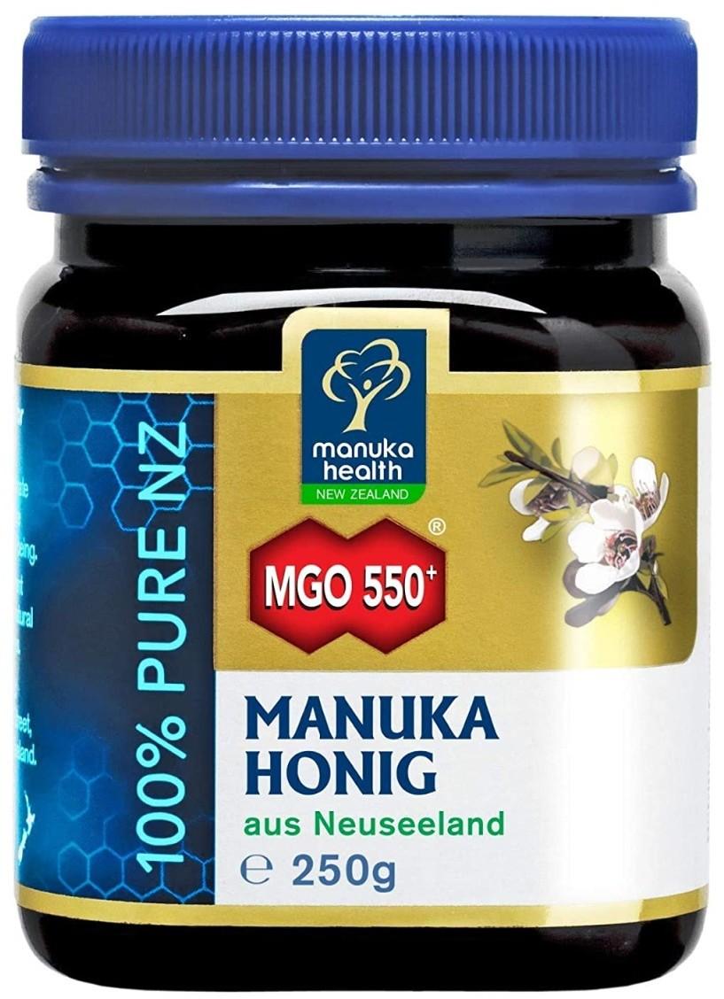 Manuka Health New Zealand Health Miód 550+ Health 500g Dzień Kobiet | Taniej o 8%