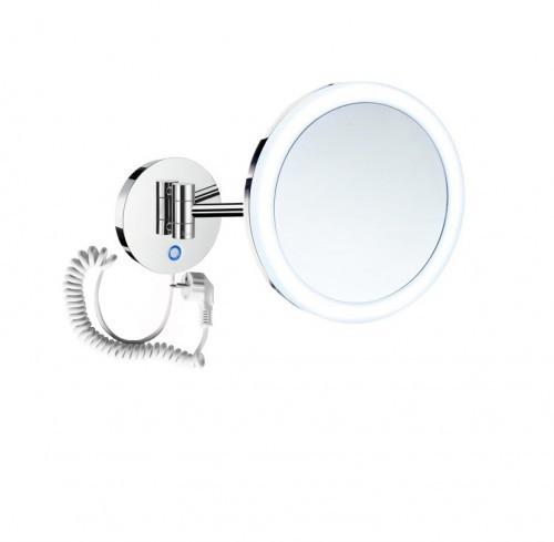 Stella Stella lusterko kosmetyczne powiększające x5 podświetlane LED włącznik sensorowy,podwójne ruchome ramię 22.00451