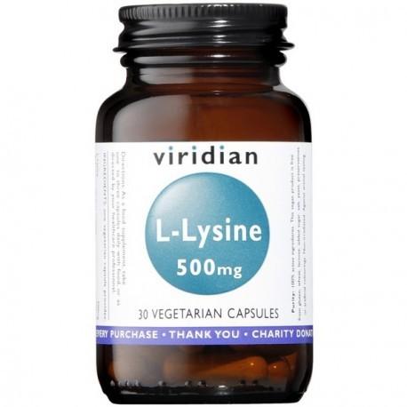 Viridian L-Lizyna 500 mg (30 kapsułek) Viridian