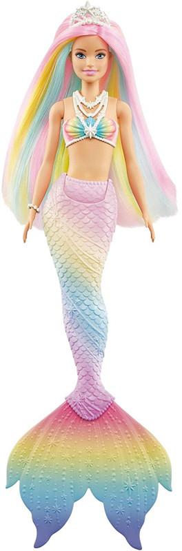 Mattel Lalka Barbie Syrenka Tęczowa Przemiana 1062