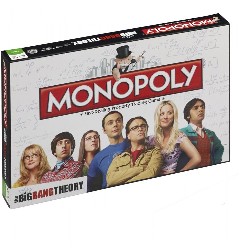 - Teoria wielkiego podrywu  gra Monopol