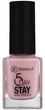 Dermacol 5 Day Stay lakier do paznokci o dużej trwałości odcień 07 Tea Rose 11 ml