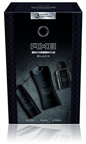 Axe AXE zestaw prezentowy Black Body Spray, żel pod prysznic i After Shave, 1er Pack 8710447235942