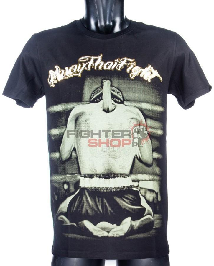 Born to be Muay Thai T-shirt męski WAIKOO Born to be Muay Thai
