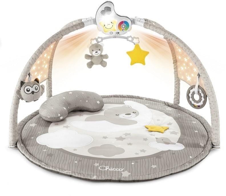 Chicco Mata dla niemowlaka 3w1 z projektorem Natural