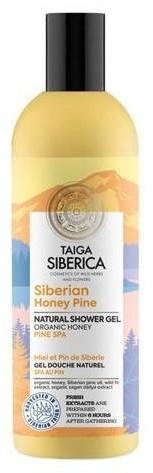 Natura Siberica Taiga Siberica Siberian honey pine Żel pod prysznic 270ml 53407-uniw