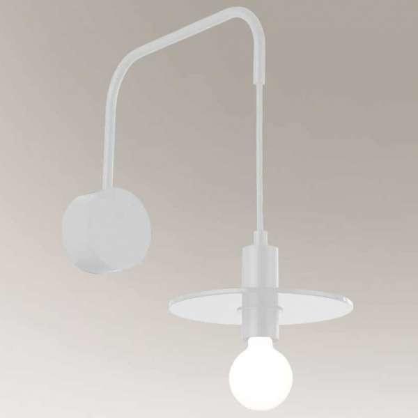 Shilo Industrialna LAMPA ścienna IKEDA 7978 metalowa OPRAWA kinkiet regulowany wysięgnik loft czarny 7978