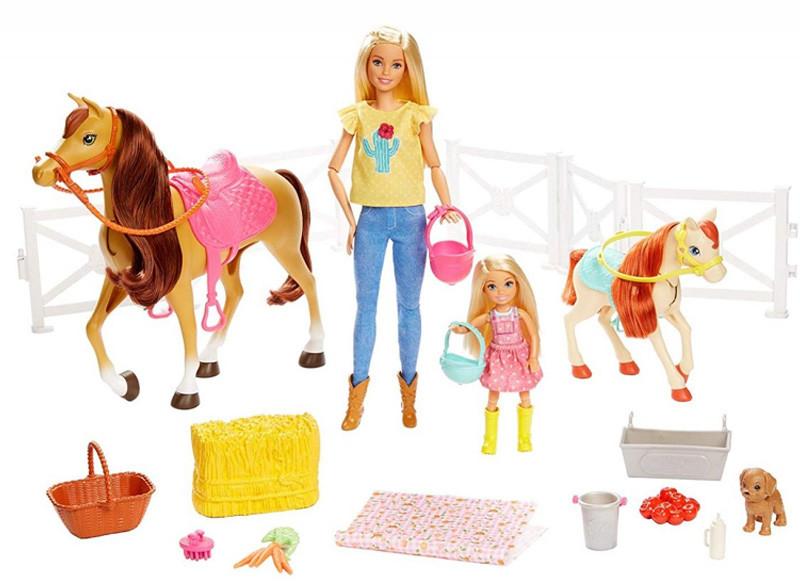 Mattel statdnina koni zestaw FXH15 FXH15