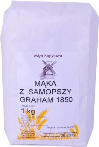 Młyn Kopytowa Mąka z Samopszy Graham Typ 1850 1kg -