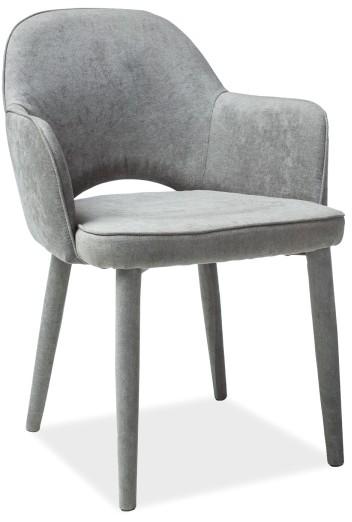 Signal Krzesło metalowe ROBIN szary LOFT (signal_ROBINCSZ)