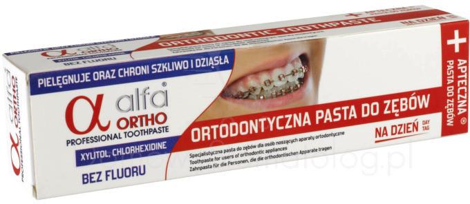 Atos Pasta do zębów Alfa Ortho Na Dzień