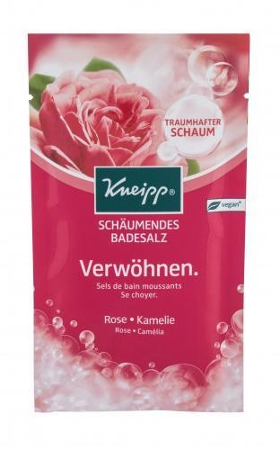 Kneipp Bubbling Mineral Bath Salt Pamper Rose & Camellia sól do kąpieli 80 g