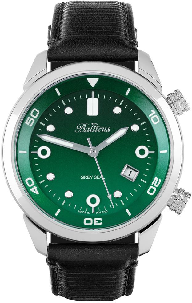 Balticus Zegarek BALGSGRN Grey Seal III Limited Edition