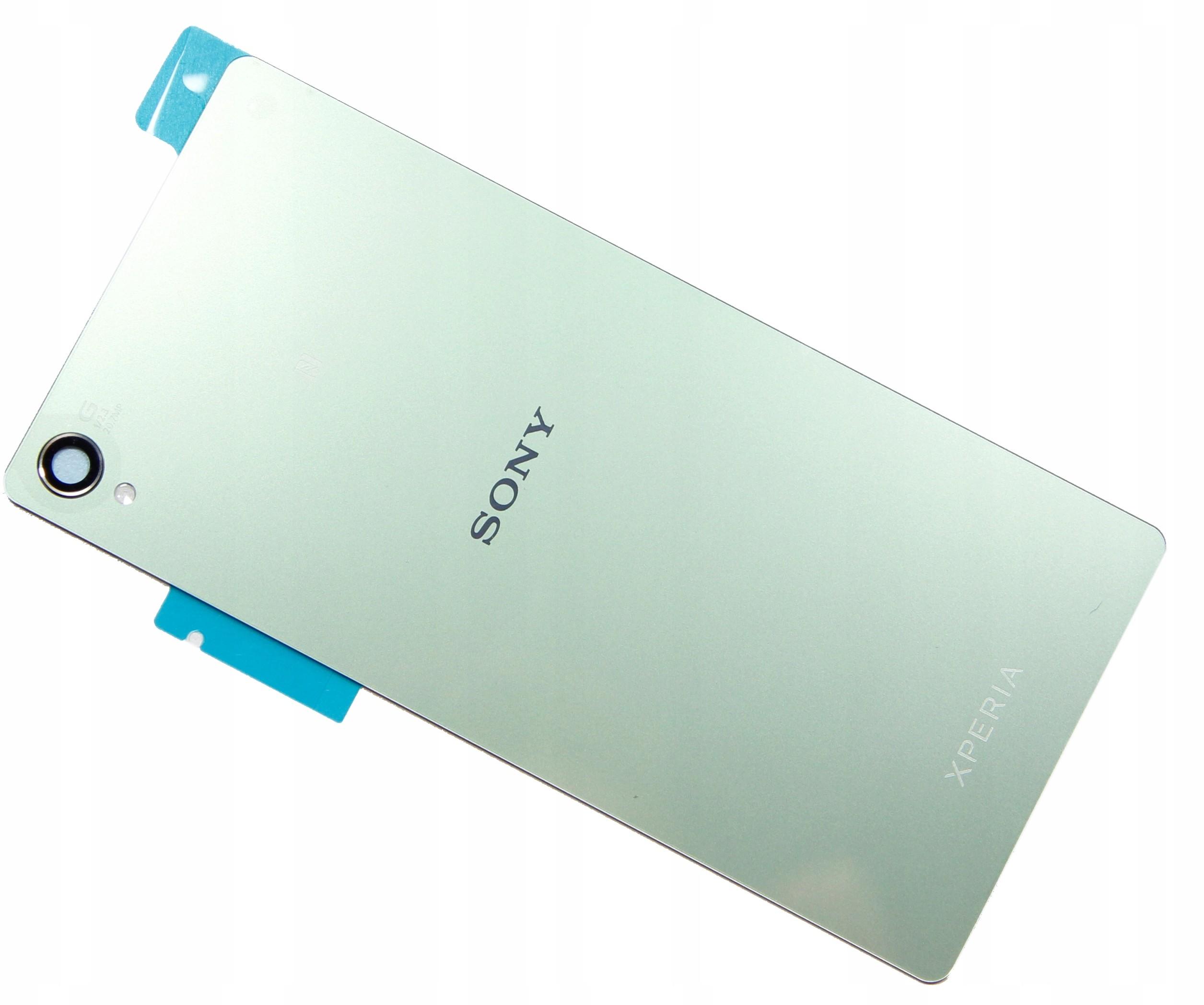 Sony Oryginalna Obudowa Xperia Z3 Silver Green