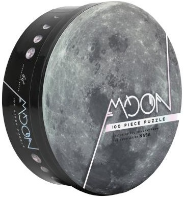 Moon: 100 Piece Puzzle: Featuring Photography from the Archives of NASA (Chronicle Books) (Other)