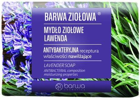 Barwa Ziołowa mydło w kostce lawenda 100g