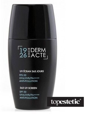 Academie 365 UV Screen Anti Pollution SPF 50 UVA/UVB/PA++++ Krem ochronny 30 ml