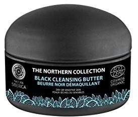 Natura Siberica Czarne do czyszczenia masła, nadaje się do głębokiego oczyszczania twarzy, 120ML, natura siberica 4743318167770