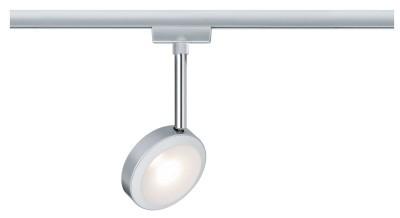 Paulmann Spot do szyn DISCUS okrągły 5W LED matowy chrom 96891 96891