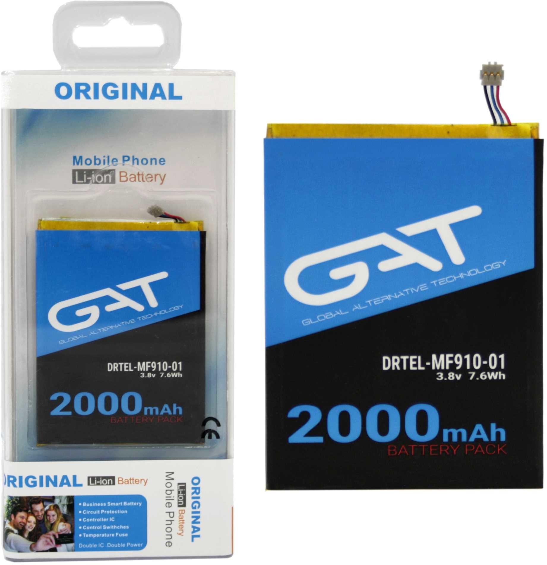 ZTE Bateria LI3820T43P3H715345 MF910 Router 2000
