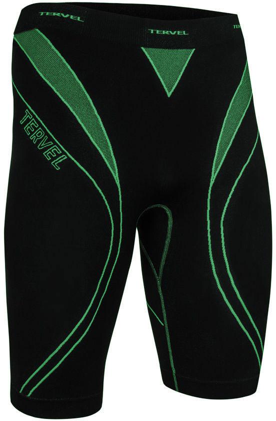 TERVEL OPTILINE męskie spodenki bokserki termoaktywne OPT3204 czarno-zielony