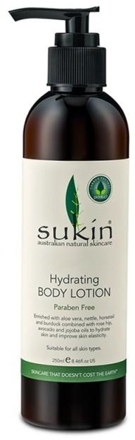 Sukin Sukin, Nawilżające roślinne mleczko do ciała Hydrating Body Lotion, 250ml 9327693000393
