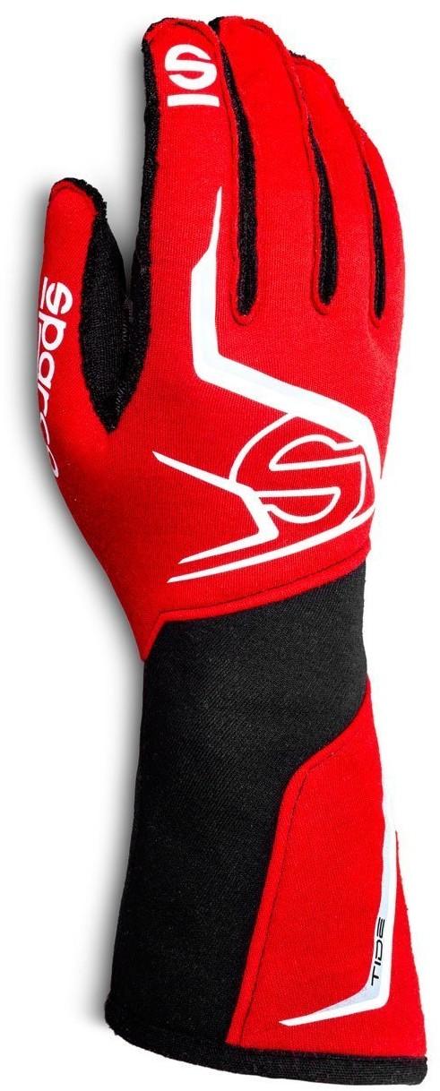Sparco Rękawice rajdowe TIDE MY20 czerwone (homologacja FIA) 00135610RSNR