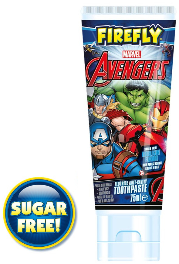 FIREFLY Pasta do zębów Avengers 75ml 3 + TOW011567