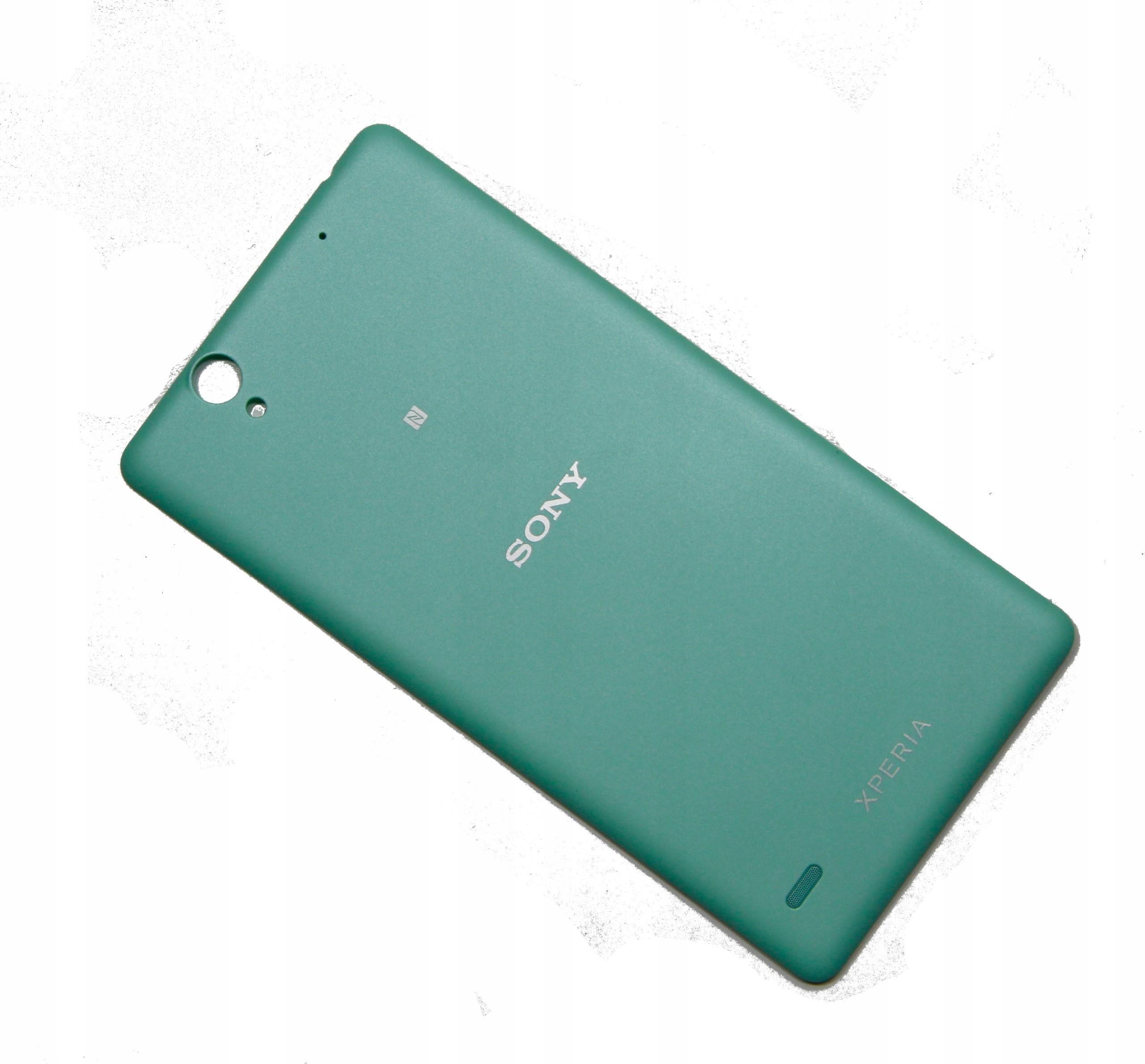 Sony Nowa Obudowa Tył C4 E5333 E5303 Dual Green