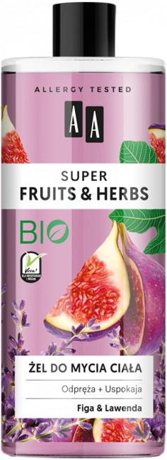 Oceanic Super Fruits&Herbs żel do mycia ciała figa/lawenda 500ml 52822-uniw