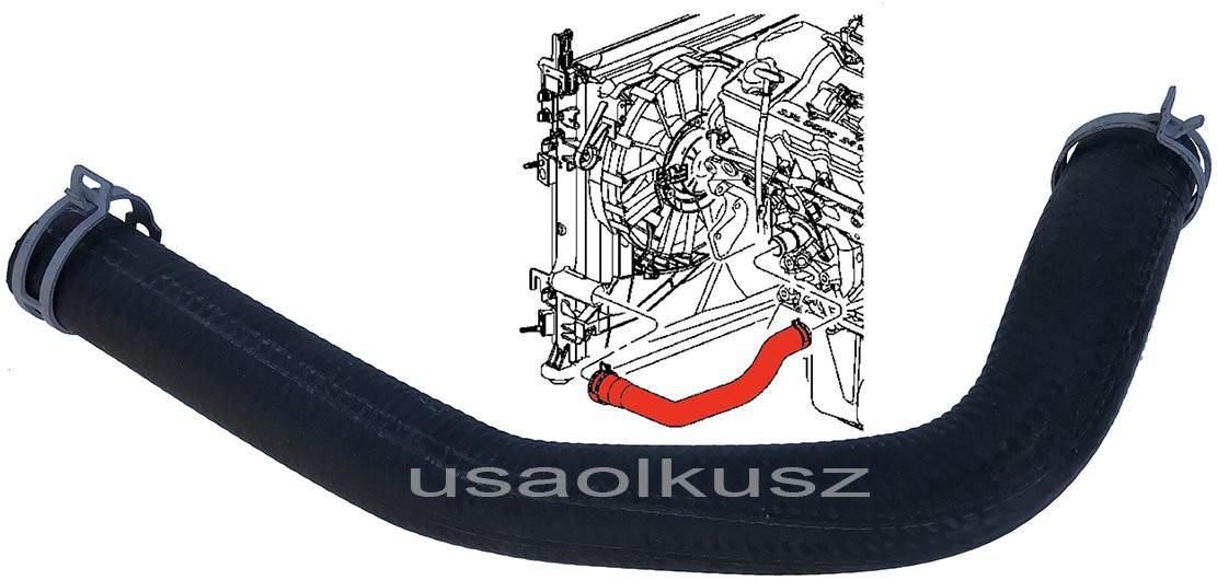 MOPAR Wąż chłodnicy lewy dolny Dodge Magnum 2,7 V6 xxx