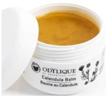 Essential care Odylique Odylique by organiczny uniwersalny balsam nagietkowy na podrażnioną, przesuszoną i popękaną skórę z olejem kokosowym, oliwą, masłem Shea, woskiem pszczelim, nagietkiem, rumiankiem i sło