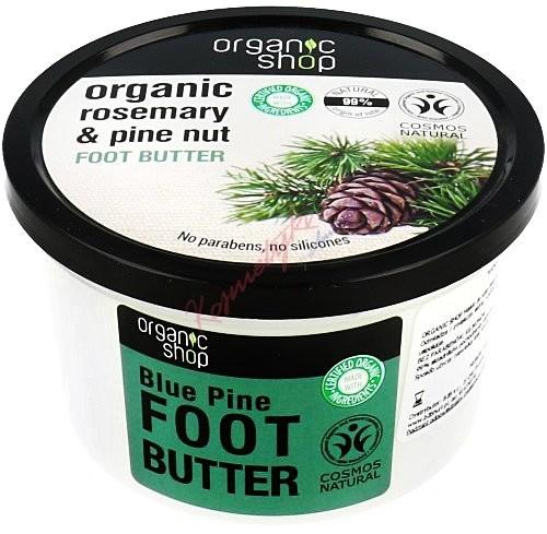 Organic Shop masło do stóp Niebieska Sosna, 250 ml