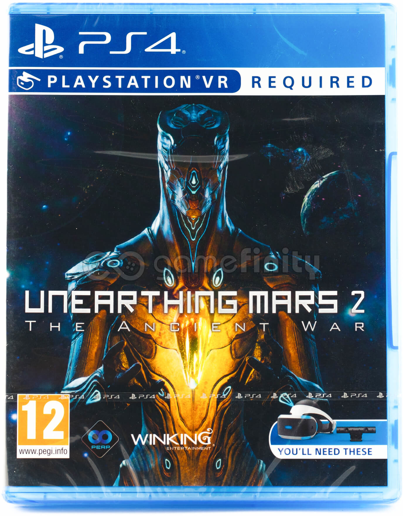 Unearthing Mars 2: The Ancient War (GRA PS4 VR)