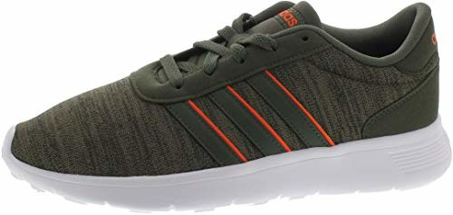 Adidas Lite Racer trampki zielone - - 43 EU (B43720_Basgrn/Basgrn/Hireor)
