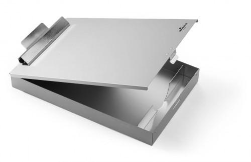 Durable Podkład do pisania Clipboard A4 BOX aluminiowy srebrny 3392-23