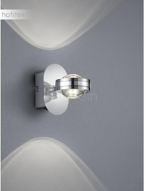 Trio Oświetlenie Leuchten Lentil Lampa ścienna LED Chrom, 2-punktowe 272570206