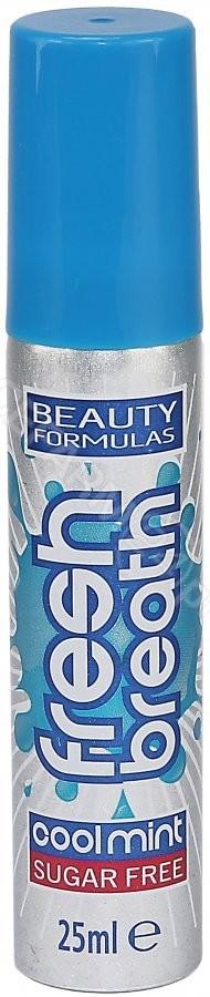 Beauty Formulas odświeżacz do ust cool mint 25 ml | DARMOWA DOSTAWA OD 149 PLN!