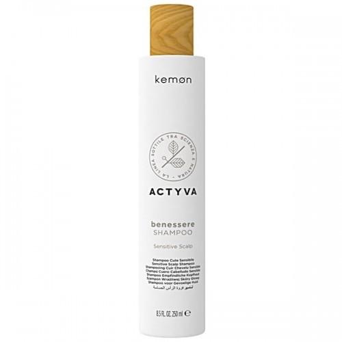 Kemon Actyva Benessere Shampoo szampon do wrażliwej skóry głowy 250 ml 8020936070511