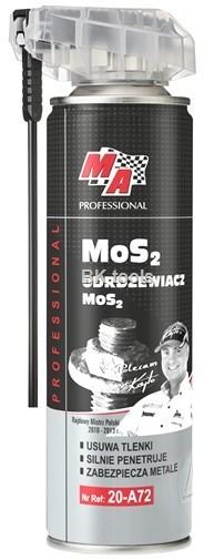 Ma professional MA PROFESSIONAL - Odrdzewiacz Mos2 250ml - aplikator