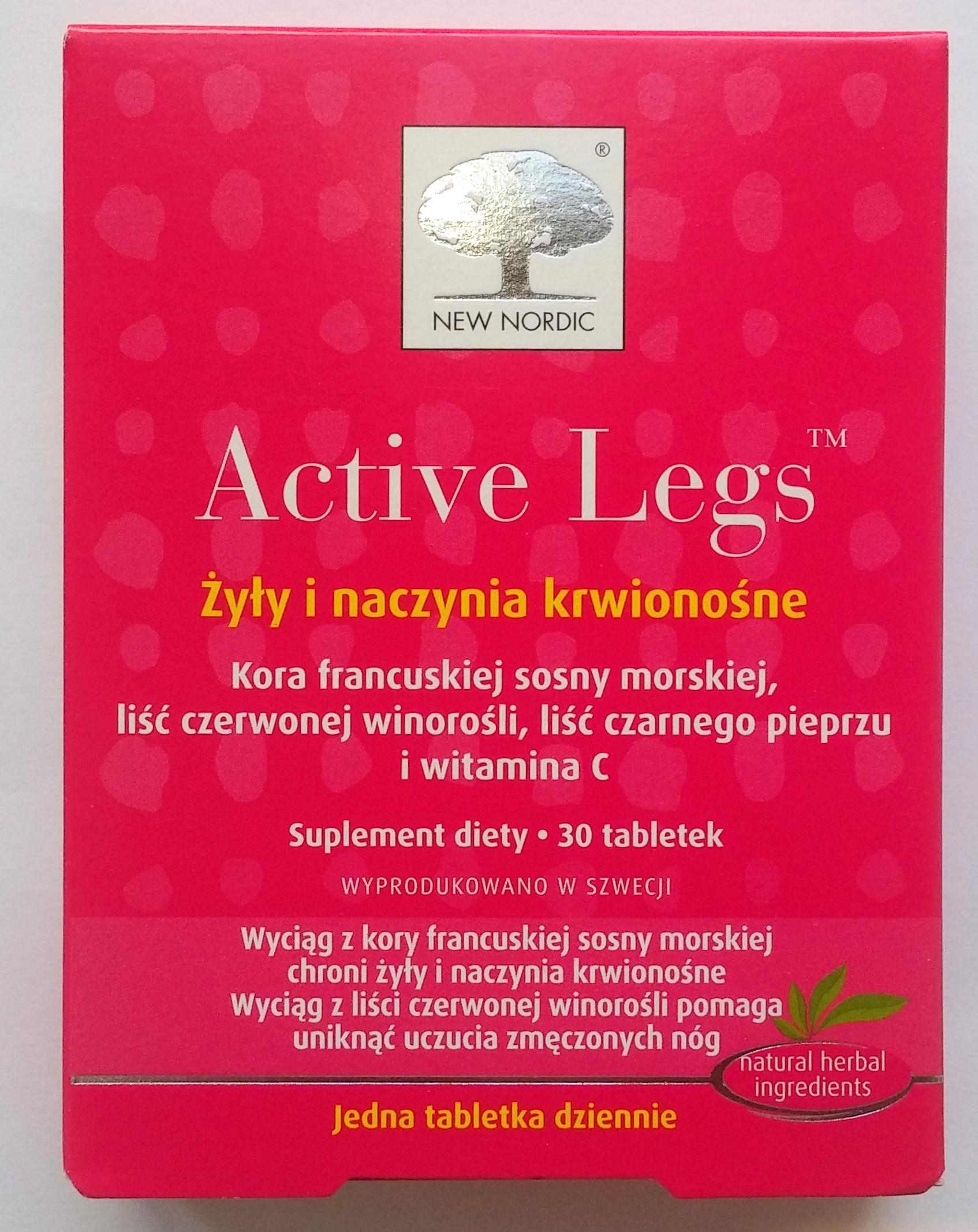 NEW NORDIC Active Legs 30 tabl New Nordic 3348161