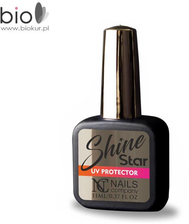 NAILS COMPANY SHINE STAR Nails Company TOP HYBRYDOWY z UV PROTECTOR 11 ml SHINE STAR 11ML