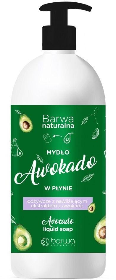 Barwa BARWA_Naturalna mydło w płynie odżywcze Awokado 500ml