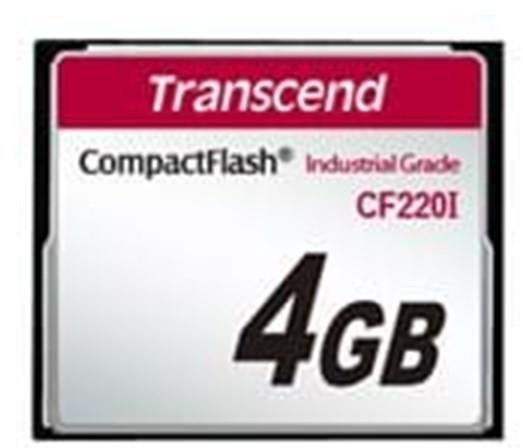 Transcend CompactFlash 4GB  (TS4GCF220I)